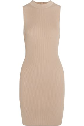 TART Taya ribbed stretch-knit dress