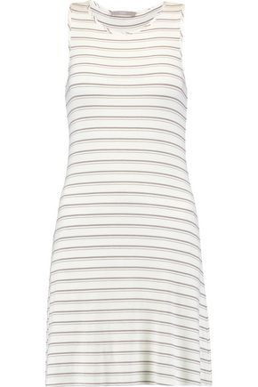 TART COLLECTIONS Matty striped stretch-jersey dress
