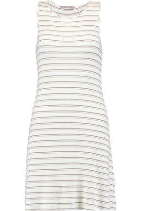TART COLLECTIONS Matty striped stretch-jersey dress
