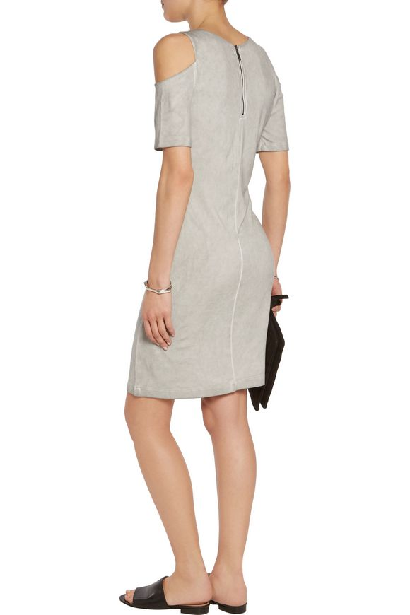 Cold-shoulder jersey mini dress | TART COLLECTIONS | Sale up to 70% off |  THE OUTNET