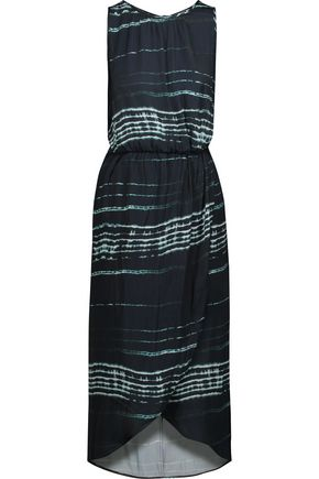 TART COLLECTIONS Hester wrap-effect crepe de chine midi dress