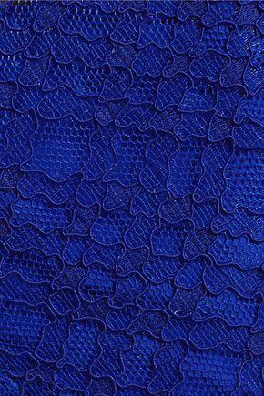 SANDRO Corded lace mini dress
