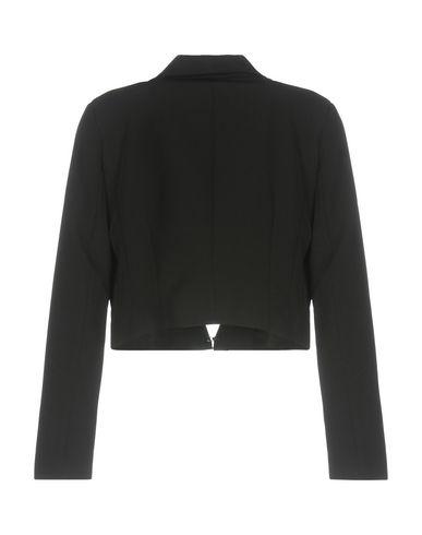 Фото 2 - Женский пиджак  черного цвета