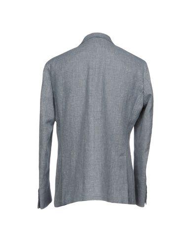 Фото 2 - Мужской пиджак PAOLONI лазурного цвета