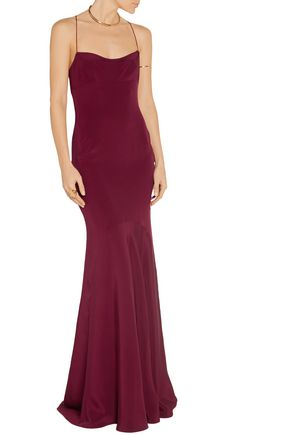 NARCISO RODRIGUEZ Silk gown