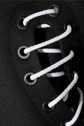 TIM COPPENS Embroidered wool-gabardine bomber jacket