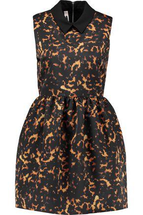 McQ Alexander McQueen Printed shell mini dress ...