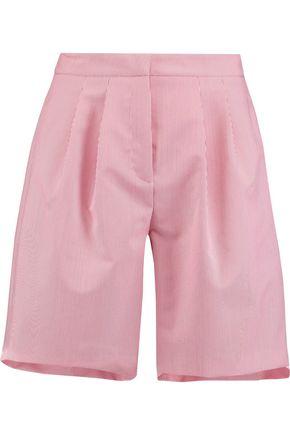 VIVETTA Striped twill shorts
