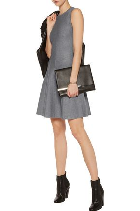 MAGASCHONI Silk-blend jersey mini dress