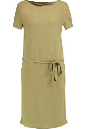 PETIT BATEAU Linen-jersey mini dress