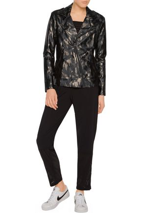 KORAL Printed stretch-jersey jacket