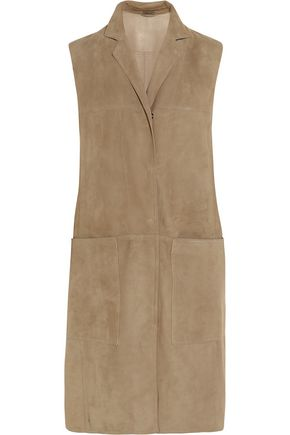 BOTTEGA VENETA Suede dress