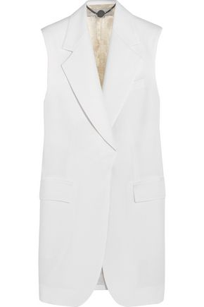 STELLA MCCARTNEY | Stella Mccartney Wool-Piqué Vest | Goxip