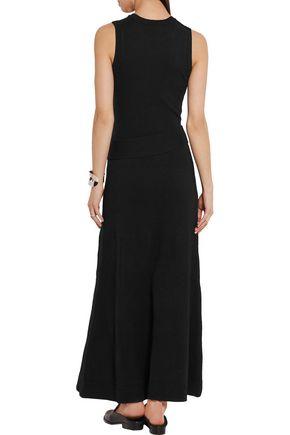 MICHAEL KORS COLLECTION Belted cashmere-blend maxi dress