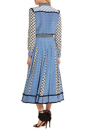 ... DODO BAR OR Silk crepe de chine maxi dress
