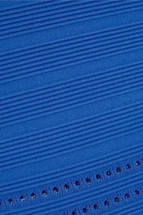 MICHAEL MICHAEL KORS Ribbed stretch-jersey dress