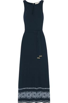 MICHAEL MICHAEL KORS Miura printed stretch-jersey maxi dress