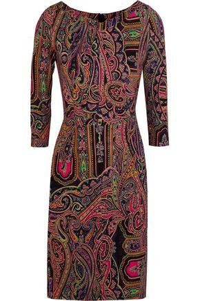 ETRO Paisley-print stretch-jersey dress