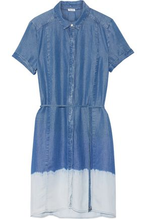 SPLENDID Sandollar degradé chambray shirt dress