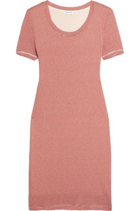 SPLENDID Winward striped stretch-jersey dress