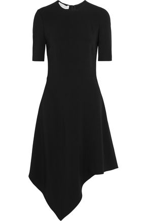 STELLA McCARTNEY Asymmetric stretch-cady dress