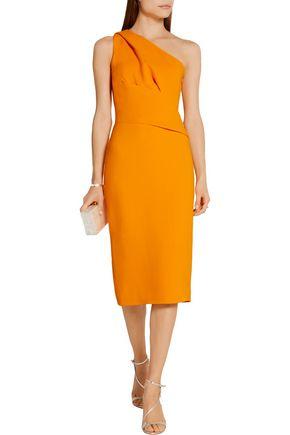 NARCISO RODRIGUEZ One-shoulder stretch-crepe dress