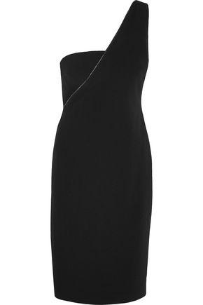 TOM FORD One-shoulder stretch-cady dress