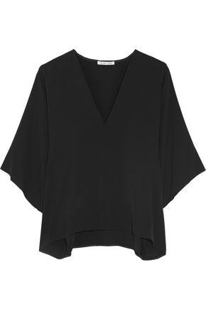 HELMUT LANG Silk-georgette blouse