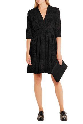 VIVIENNE WESTWOOD ANGLOMANIA Harima flocked crepe dress