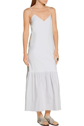 THE ROW Morin stretch-cotton poplin maxi dress