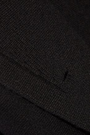 ALEXANDER MCQUEEN Double-breasted wool-blend peplum blazer
