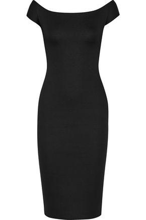 ANTONIO BERARDI Cutout scuba-modal dress