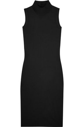 RICK OWENS Jersey turtleneck dress