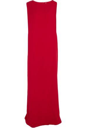 CHALAYAN Oversized crepe column maxi dress