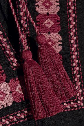 TALITHA Salma embroidered cotton mini dress