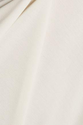 T by ALEXANDER WANG Modal-blend piqué mini dress