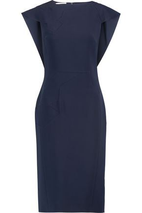 ANTONIO BERARDI Paneled crepe dress