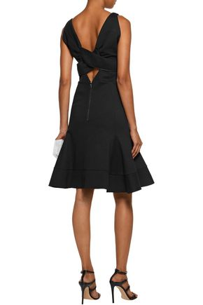 ANTONIO BERARDI Fluted stretch-cady dress