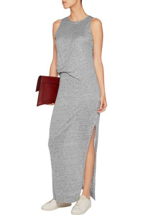 BY MALENE BIRGER Namilla gathered linen maxi dress