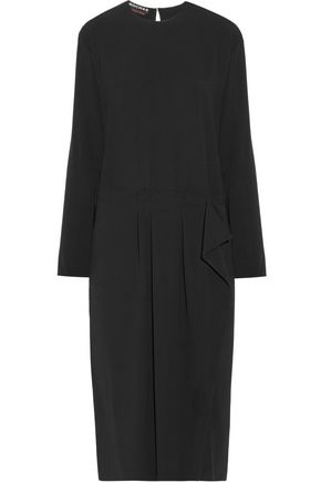 ROCHAS Stretch-crepe midi dress