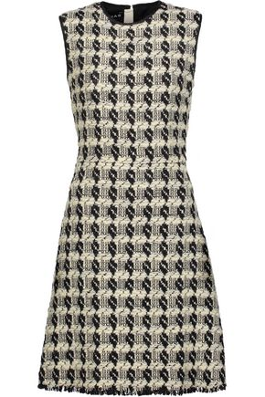 ROCHAS Wool-blend tweed dress