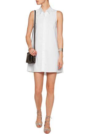 ALICE + OLIVIA Amya stretch cotton-blend mini dress