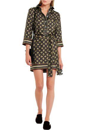 F.R.S. FOR RESTLESS SLEEPERS Galatea printed silk-twill mini dress