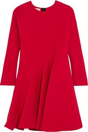 MARNI Silk and wool-blend dress