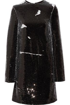 MSGM Sequined crepe mini dress