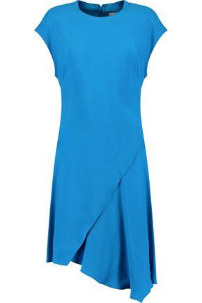 EMILIO PUCCI Asymmetric layered stretch-knit mini dress