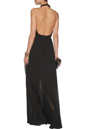 EMILIO PUCCI Embellished stretch-tulle gown