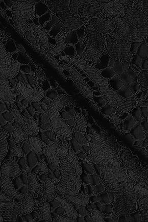 EMILIO PUCCI Guipure lace mini dress