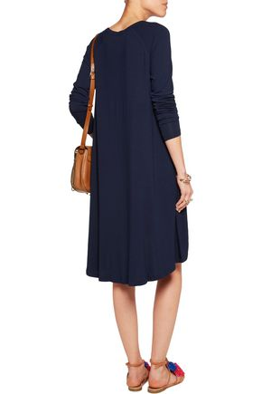 ZIMMERMANN Swing slub stretch-jersey dress