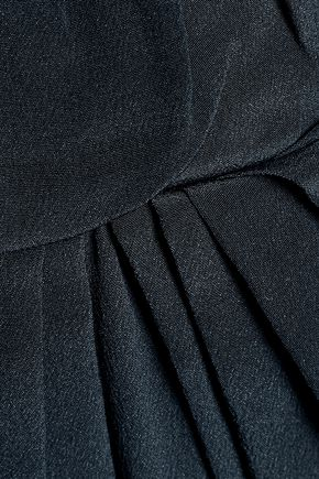 ZIMMERMANN Gathered silk-satin maxi dress